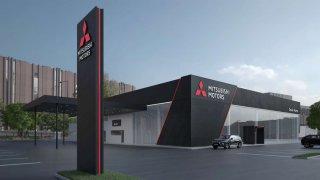 Mitsubishi nový design u dealerství