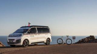 Citroën doplnil koncept obytného vozu o jízdní kolo
