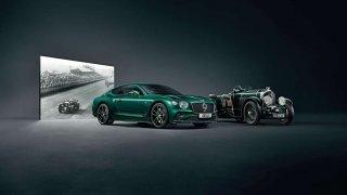 Inspirováno závodní legendou. Bentley Continental GT Number 9 Edition by Mulliner.