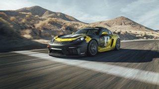 Porsche 718 Cayman GT4 Clubsport 1