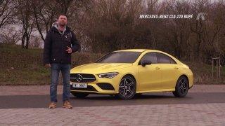 Recenze Mercedesu-Benz CLA 220 kupé