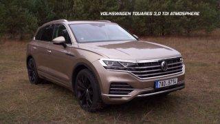 Test velkého SUV Volkswagen Touareg 3.0 TDI Atmosphere