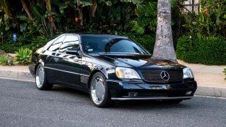 Mercedes S600 V12 Michael Jordan