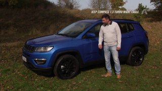Recenze Jeepu Compass 1.3 Turbo Night Eagle a veteránu Willys