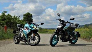 Krásné a levné motorky pro osmnáctileté. Vyzkoušeli jsme CFMOTO 300SR a 300NK
