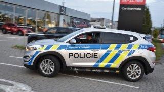 Policie předvedla nové vozy Hyundai Tucson. 3