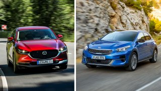 Jsou to ještě SUV? Vždyť jezdí jako hatchbacky! Testovali jsme novinky Kia XCeed a Mazda CX-30
