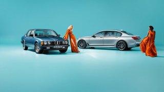 BMW řady 7 ve výroční edici 40 Jahre. 1