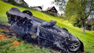 Hammond si za nehodu si může sám, tvrdí závodník