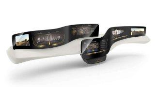Continental přístrojový panel budoucnosti