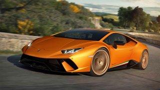 Lamborghini Huracán Performante je na okruhu extré