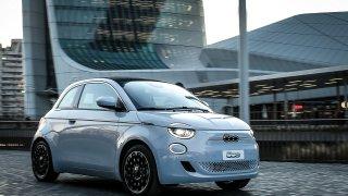 2. místo Fiat 500 e