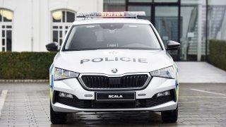 Škoda Scala Policie