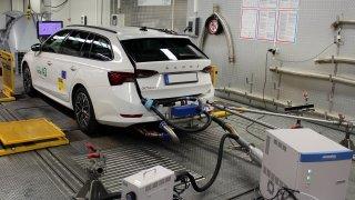 Dieselová Octavia je ekologičtější než leckterý hybrid, ukázal test. Její spotřeba překvapila