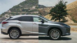 Lexus RX 450h vs. RX 450h L