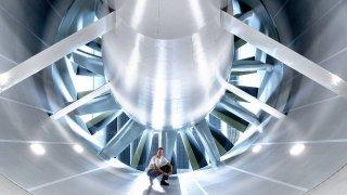 Mráz, tropy i vánici umí simulovat nový tunel Volkswagenu