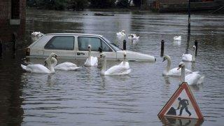 Po opakujících se bouřkách a lokálních povodních pozor na vytopené ojetiny. Dejte od nich ruce pryč