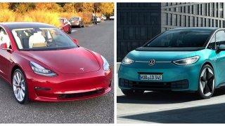 Volkswagen ID.3 vs. Tesla Model 3: Střet různých planet ze stejné galaxie. Není trojka jako trojka