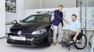 Volkswagen R předání 200 000. vozu