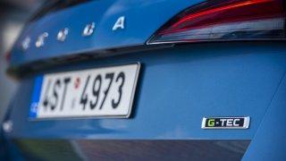 Nová Škoda Scala G-TEC na zemní plyn se ukázala v Berlíně. Koupíte ji ještě letos