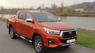 Král pickupů - Toyota Hilux