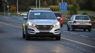 Hyundai Tucson v policejních barvách bude na český