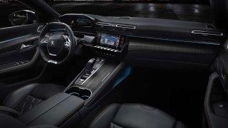 Peugeot 508 interiér