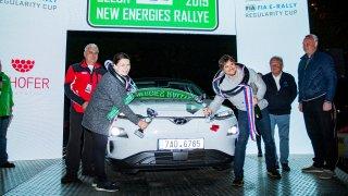 Czech New Energies Rallye Hyundai Kona Běhal