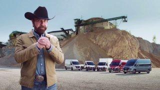 Chuck Norris v reklamě na Fiat