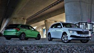 Před řidičem jsou nachlup stejné, ale jízdně se liší. Škoda Kamiq 1.0 TSI vs. Škoda Scala 1.0 TSI
