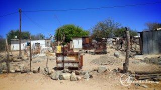 Bohužel, takhle běžně bydlí Namibijci