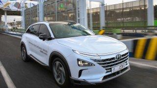 Hyundai absolvoval autonomní jízdu s vozem spalivovými články