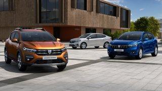 Dacia Sander, Sandero Stepway a Logan