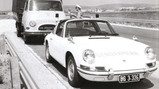 Porsche 911 Targa ve službách rakouské policie