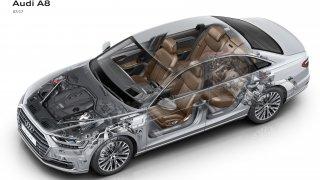 Audi A8 technika 1
