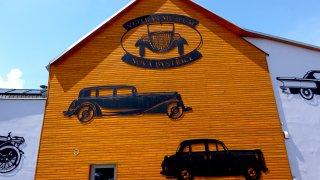 Muzeum amerických aut Nová Bystřice
