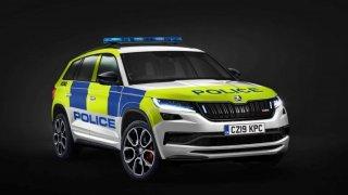 Britská policie bude pomáhat a chránit ve Škodě Kodiaq RS