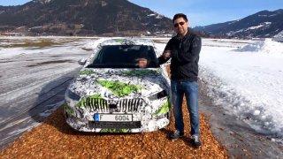 Maskovaná Škoda Fabia 4. generace se proháněla v Rakousku. Měla speciální kamufláž pro utajení