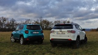 Jeep Renegade vs. Compass