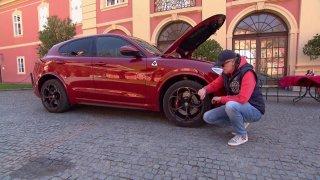 Test dvou vozů značky Alfa Romeo - modelů Giulia a Stelvio