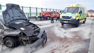 nehoda hasičů