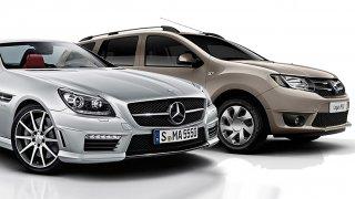 Nejspolehlivější auta: SLK, GLK a A6
