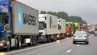 Praha nečekaně zakázala vjezd kamionů - ilustrační