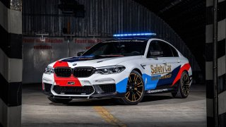 BMW M5 Safety Car 3