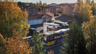 Östersund elektrický autobus