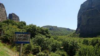 Najdete je poblíž řeckých měst Kastraki a Kalabaka