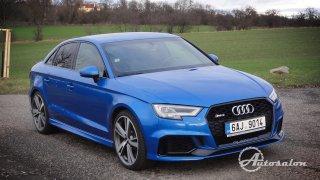 Rychlík v kompaktním segmentu! Výjimečný pětiválec o výkonu 400 koní v novém sedanu Audi RS3