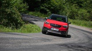 Opel Crossland X jízda 2