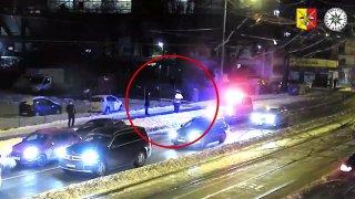 Provokoval a natáčel vyšetřování nehody. Nakonec dal policistovi pěstí