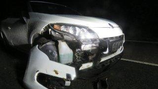 Noční bouřky trápily řidiče. D1 opět stála  a pak ji pro změnu blokovali kamioňáci